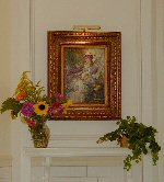 Garden View mantel